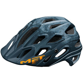 MET Lupo Helmet matt blue oil
